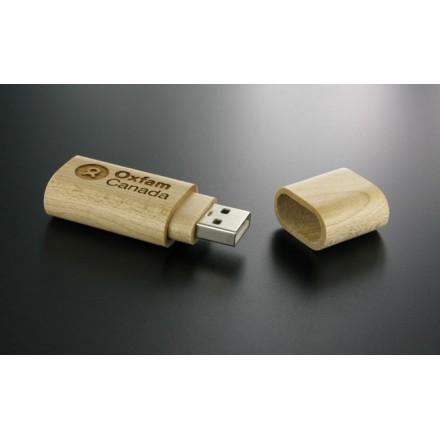 "Clé USB ""Minimal Wood"""