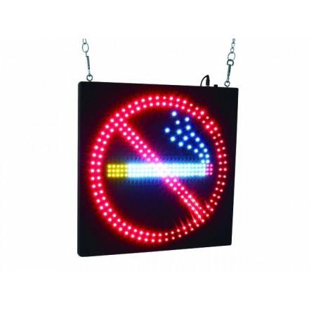 Enseigne LED «Non Fumeur »