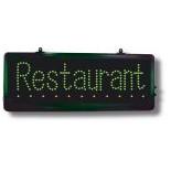 Enseigne LED Restaurant