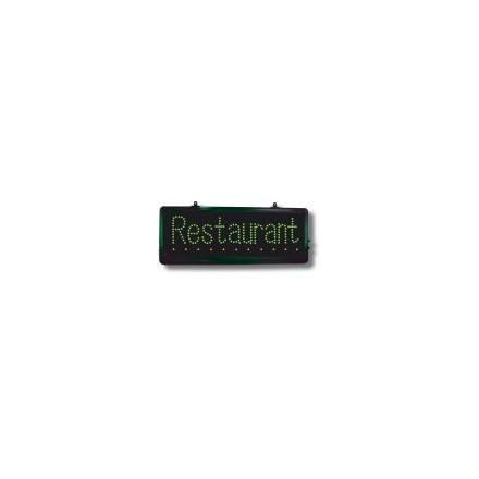 Enseigne LED « Restaurant »