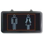 Enseigne LED Toilette