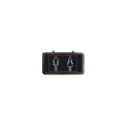Enseigne LED «Toilette »