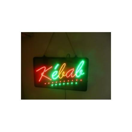 Enseigne LED « Kebab »