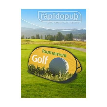 Stand publicitaire Golf