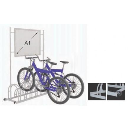 Porte vélos publicitaires