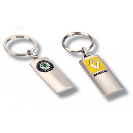 Porte clés métal publicitaires voiture