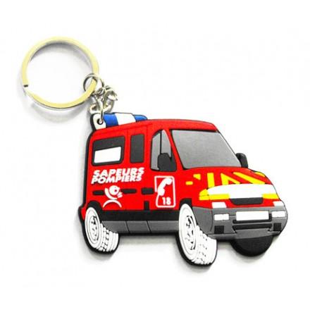 Porte clés PVC publicitaire 2D/3D