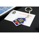 Porte-clés à la forme Flex Tag