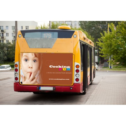Affiches papier bus transports en commun