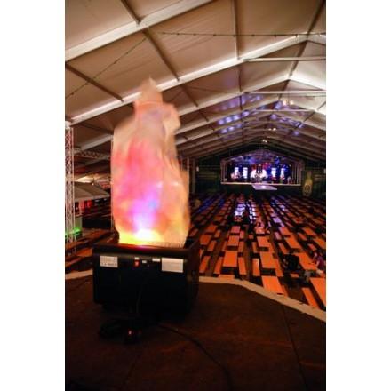 Simulateur flamme géante