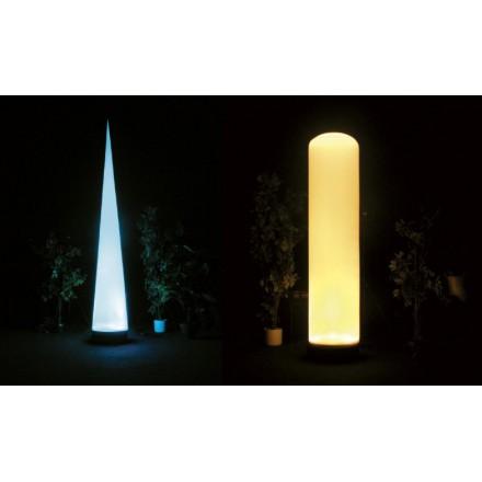 Cylindre lumineux gonflable 275 cm LED très haute puissance