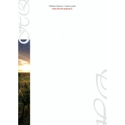 Têtes de lettre A4 Gaufrage - impression quadri + gaufrage